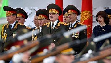 Парад в честь Дня Победы в Минске