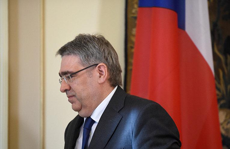 Посол России в Чехии Александр Змеевский