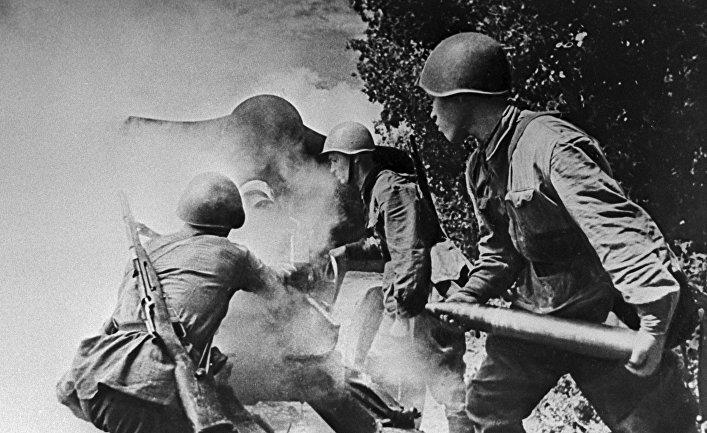 """""""Артиллеристы на огневом рубеже"""". Великая Отечественная война 1941-1945 г.г."""