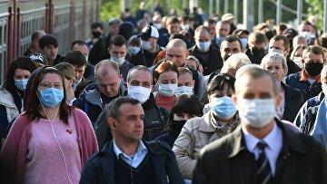 Масочный режим начал действовать в столичном регионе