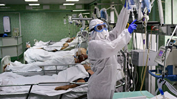 В отделении реанимации и интенсивной терапии городской клинической больницы имени В. В. Виноградова