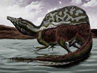 Реконструкция спинозавра амбидекстера 2015 года