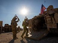 Американские солдаты на северо-востоке Сирии