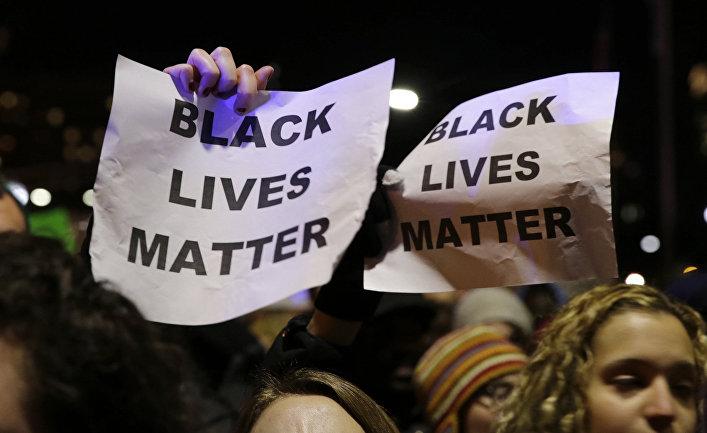 Акция протеста в Балтиморе