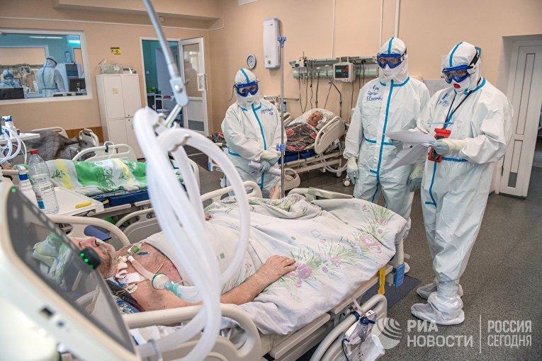 Госпиталь COVID-19 в Тверской областной больнице