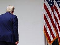 Брифинг президента США Д. Трампа