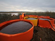 Разлив дизтоплива на ТЭЦ в Норильске