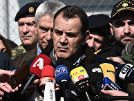 Министр обороны Греции Никос Панайотопулос