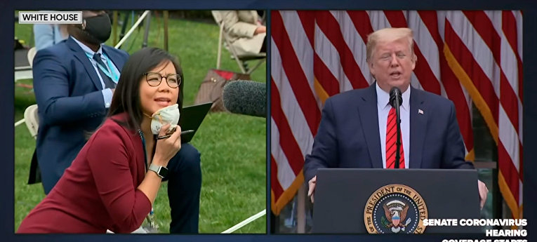 Пресс-конференция Дональда Трампа