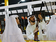 Выставка оружия в Абу-Даби