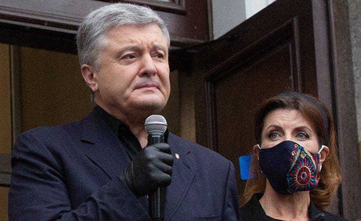 Избрание меры пресечения по делу экс-президента Украины П. Порошенко
