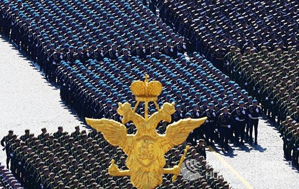 Военнослужащие парадных расчетов