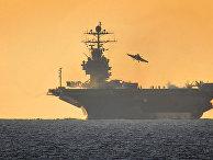 Авианосец ВМС США Harry Truman
