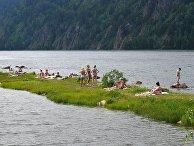 Летний отдых жителей Красноярска во время режима самоизоляции