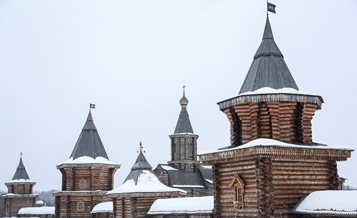 Свято-Троицкий Трифонов Печенгский мужской монастырь в Мурманской области