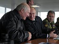 Рабочая поездка В.Путина в Калининградскую область