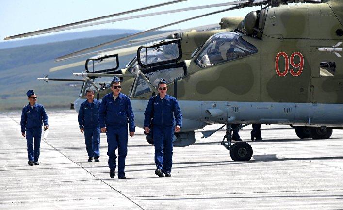 Военные учения в Забайкальском крае