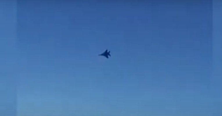 Истребитель ВВС США напугал пассажиров иранского авиалайнера