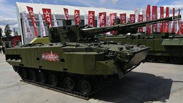 """Самоходный зенитный артиллерийский комплекс """"Деривация-ПВО"""""""