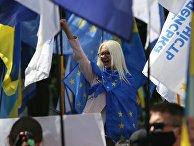 Рассмотрение Радой Украины закона о русском языке