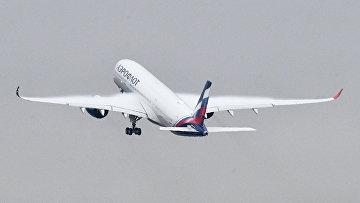 "Презентация первого Airbus А350-900 авиакомпании ""Аэрофлот"""