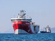 Турецкое исследовательское судно Oruc Reis