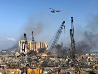 Последствия взрыва в Бейруте