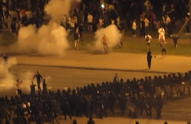 Массовые акции протеста в Белоруссии