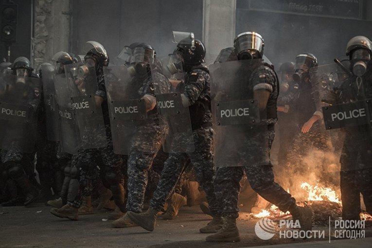 Столкновения в Бейруте