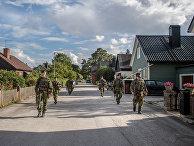 25 августа 2020. Шведские военные высаживаются на остров Готланд в Балтийском море