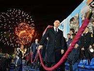 Президент РФ В.Путин посетил праздничный концерт, посвященный 70-летию Победы в ВОВ