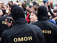 Акция оппозиции в Минске