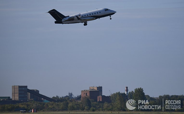 Транспортировка А. Навального из омской больницы в Германию