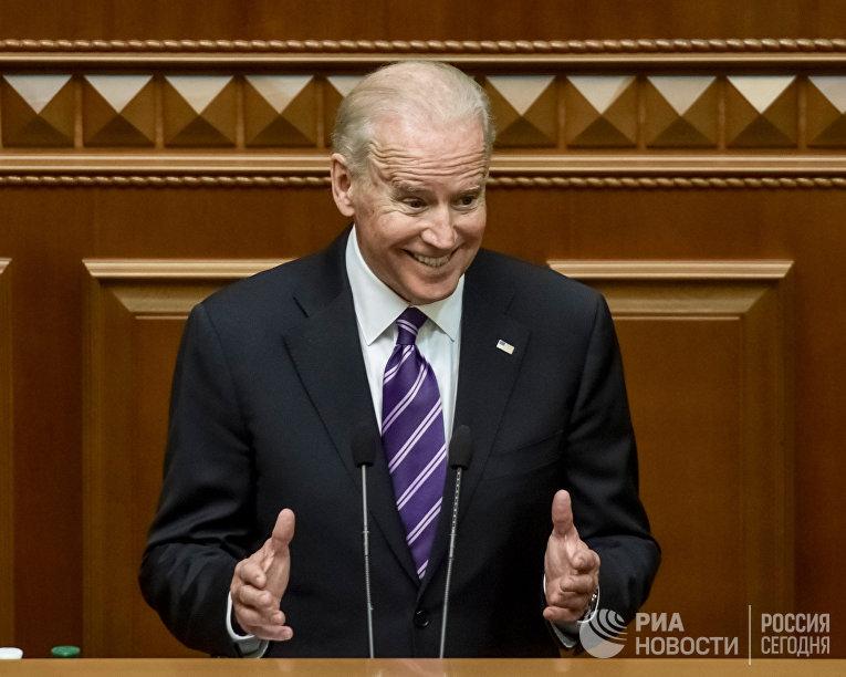 Выступление вице-президента США Джозефа Байдена на заседании Верховной рады Украины
