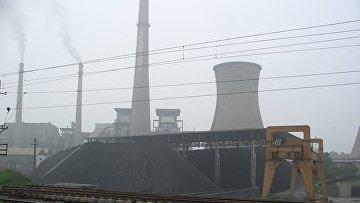 Действующая электростанция в Китае, 2005 год.