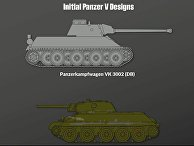 """Т-34 против Pz-V """"Пантера"""""""