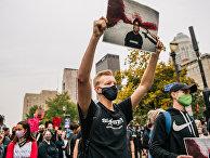 Протесты в Луисвилле, США