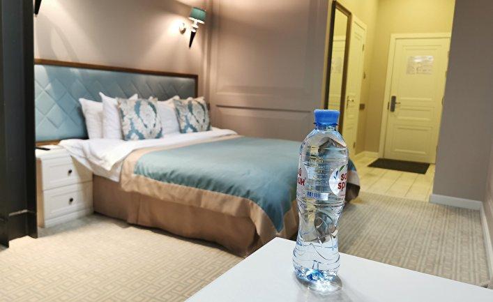 Гостиница Xander Hotel, где жил А. Навальный