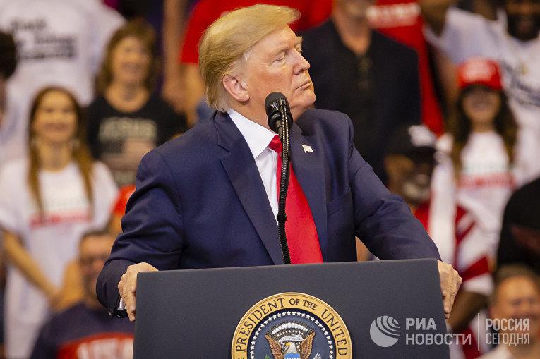 Предвыборное выступление Д. Трампа в Майами