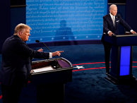 29 сентября 2020. Дебаты Дональда Трампа и Джо Байдена в Огайо, США