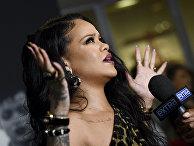 Американская певица Рианна