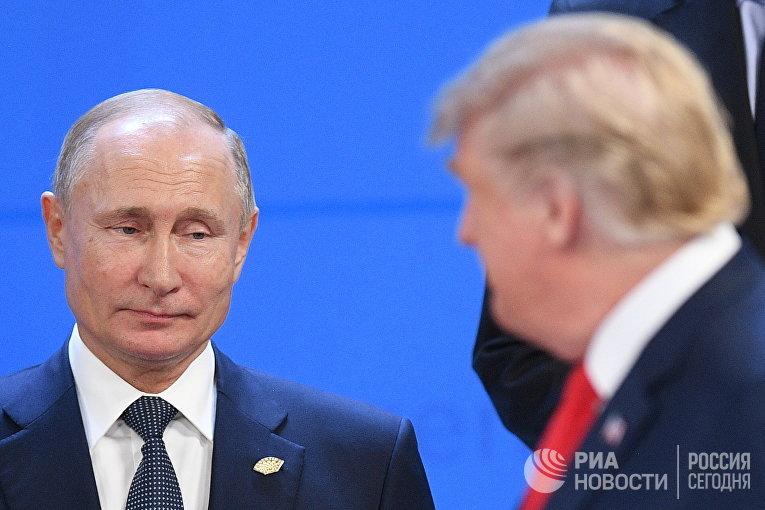 Официальный визит президента РФ В. Путина в Аргентину 30 ноября 2018