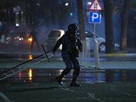 Акция протеста в Бишкеке