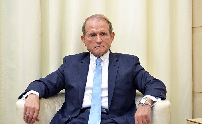 Председатель украинской партии Виктор Медведчук