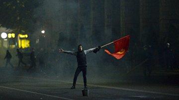 5 октября 2020. Протесты в Бишкеке, Киргизия