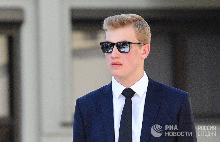 Сын президента Белоруссии Александра Лукашенко Николай