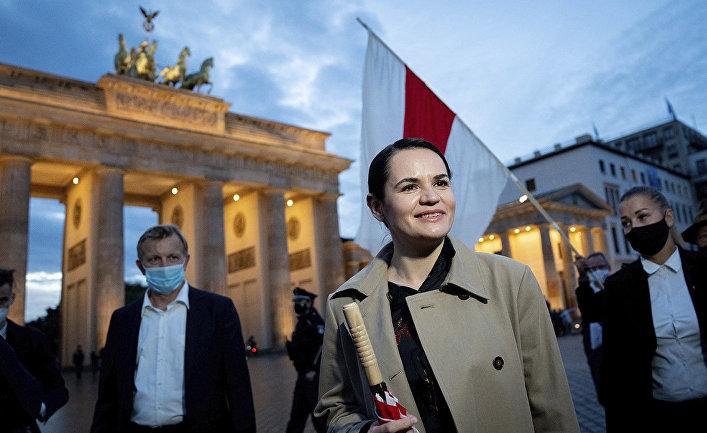 Светлана Тихановская в Берлине