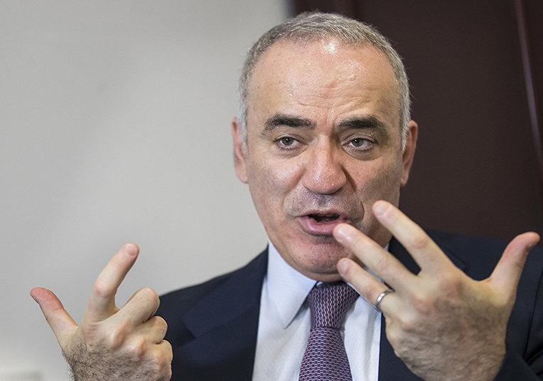 Оппозиционер Гарри Каспаров