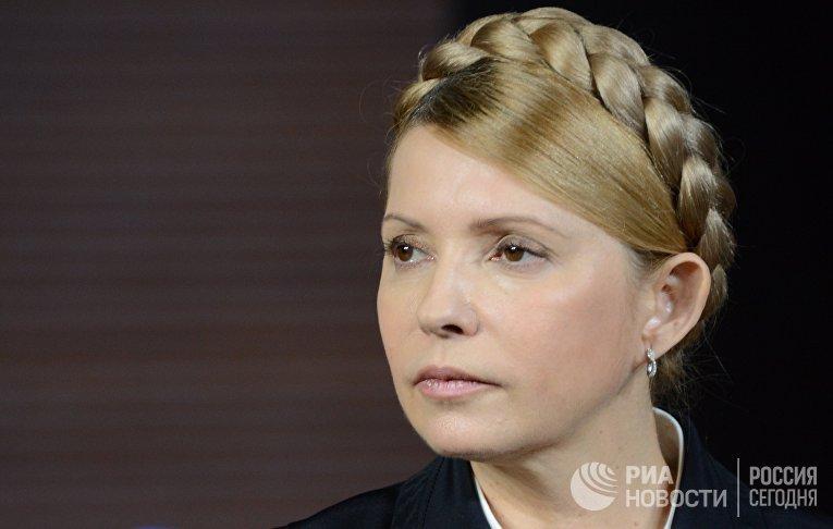 Пресс-конференция Юлии Тимошенко в Донецке