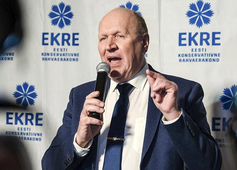 Март Хельме, Консервативная народная партия Эстонии
